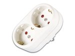BASE MULTIPLE REGLETA DE 2 TOMAS TT CONEXION SCHUKO COLOR BLANCO