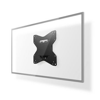 SOPORTE TV FIJO PARED 2642  PESO MAX 40 kg DISTANCIA MINIMA PARED 20 mm NEGRO