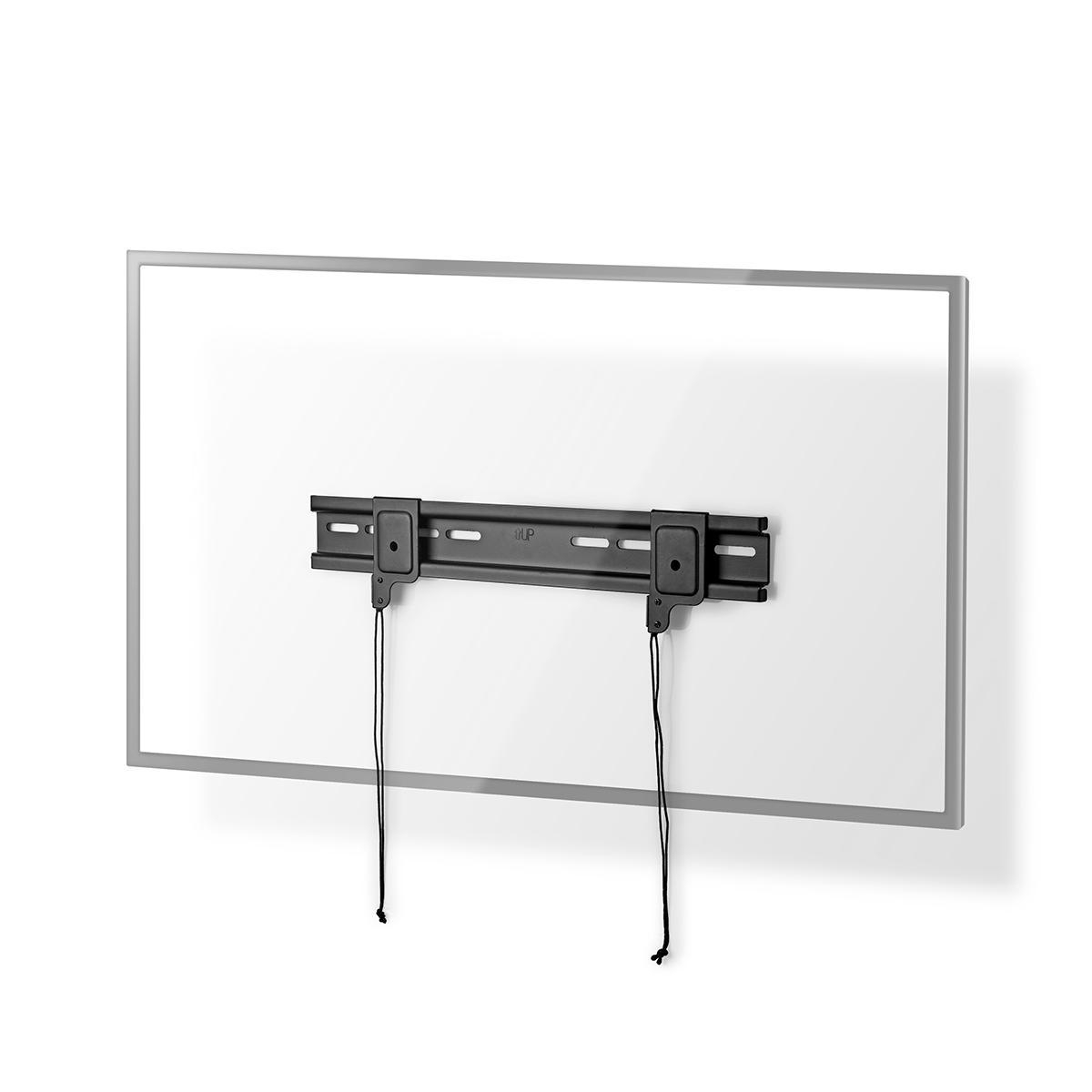 SOPORTE TV FIJO PARED 2642  PESO MAX 30 kg DISTANCIA MINIMA PARED 16 mm NEGRO